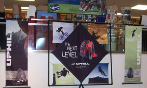 Advertising: Stretch Fabric Display